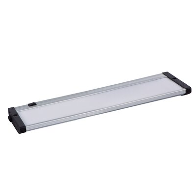 CounterMax 13 LED Under Cabinet Bar Light Finish: Brushed Aluminum