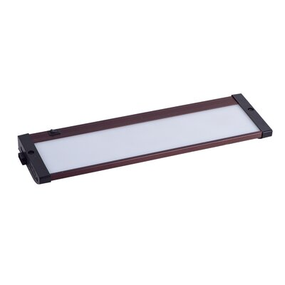 CounterMax 13 LED Under Cabinet Bar Light Finish: Anodized Bronze