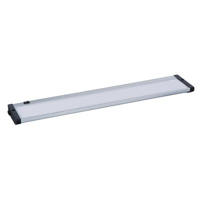 CounterMax 21 LED Under Cabinet Bar Light Finish: Brushed Aluminum