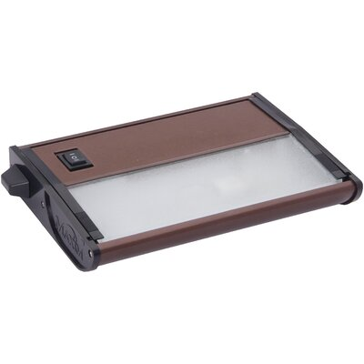 CounterMax MX-X120c 7 Xenon Under Cabinet Bar Light Finish: Metalic Bronze