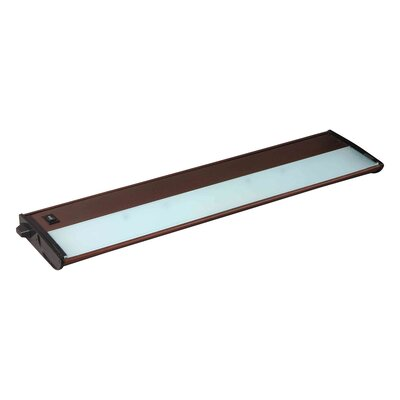 CounterMax MX-X120c 21 Xenon Under Cabinet Bar Light Finish: Metalic Bronze