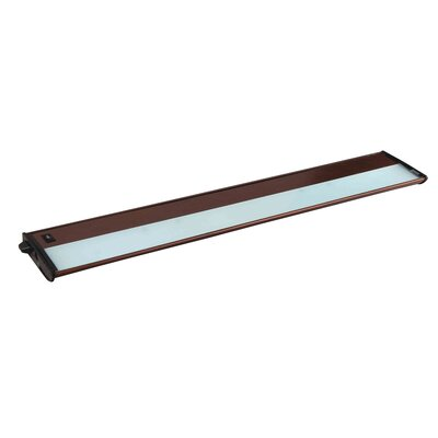 CounterMax MX-X120c 30 Xenon Under Cabinet Bar Light Finish: Metalic Bronze