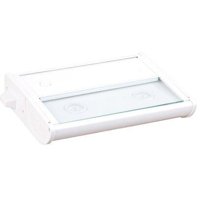 CounterMax MX-L120 7 LED Under Cabinet Bar Light Finish: White