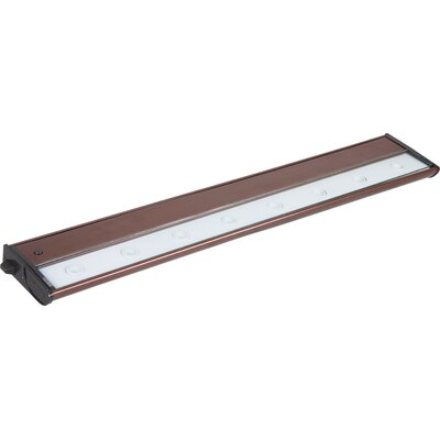 CounterMax MX-L120 30 LED Under Cabinet Bar Light Finish: Metalic Bronze