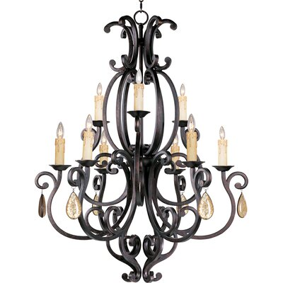 Richmond 9-Light Candle-Style Chandelier Shade: No