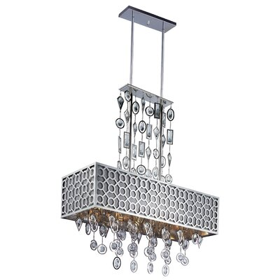 Symmetry 8-Light Chandelier