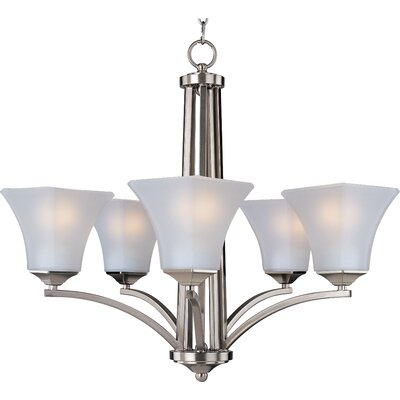 Aurora EE 5-Light Shaded Chandelier