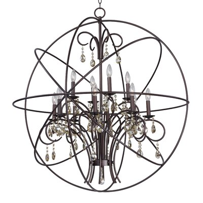 Orbit 12 Light Chandelier