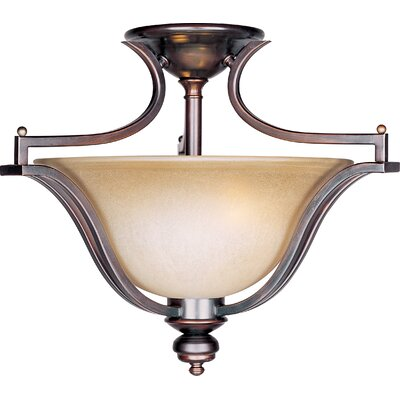 Madera 3-Light Semi-Flush Mount
