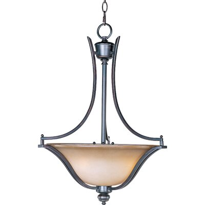 Mansfield 3-Light Pendant Finish: Oil Rubbed Bronze