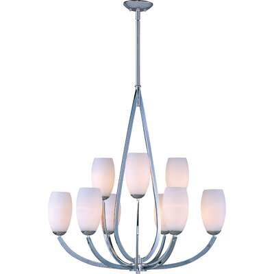 Elan 9-Light Shaded Chandelier