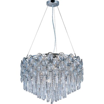Jewel 20-Light Crystal Pendant