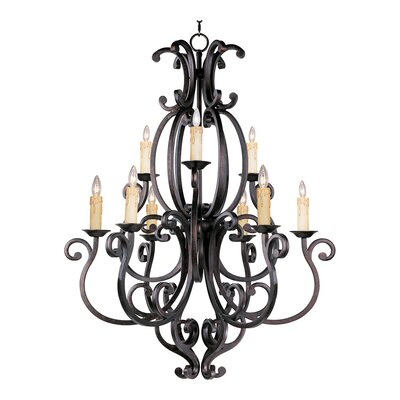 Wiltse Traditional 9-Light Candle-Style Chandelier Shades: No