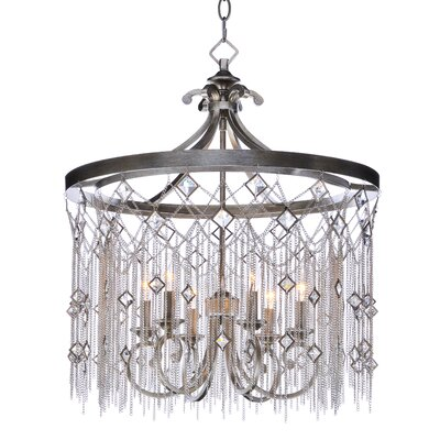 Danae 6-Light Crystal Chandelier