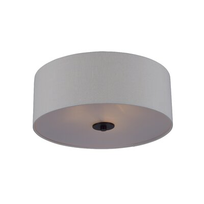 Becher 3-Light Flush Mount Finish: Oil Rubbed Bronze