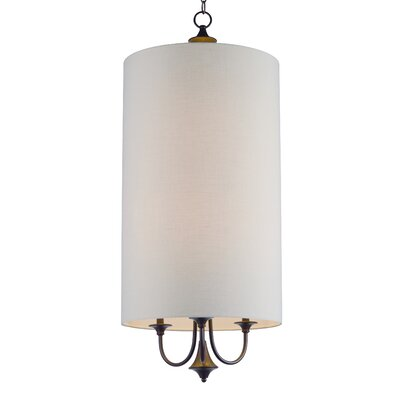 Becher 6-Light Drum Pendant Finish: Oil Rubbed Bronze