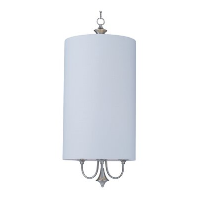 Becher 6-Light Drum Pendant Finish: Satin Nickel