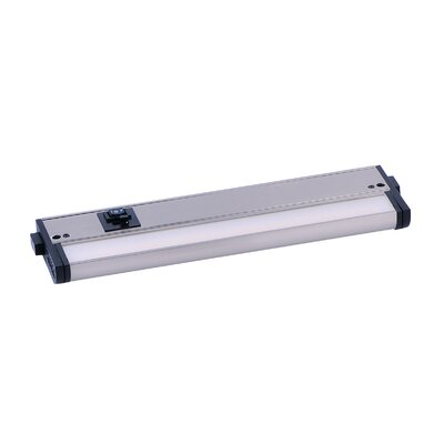 CounterMax LED 12 Under Cabinet Bar Light Finish: Satin Nickel