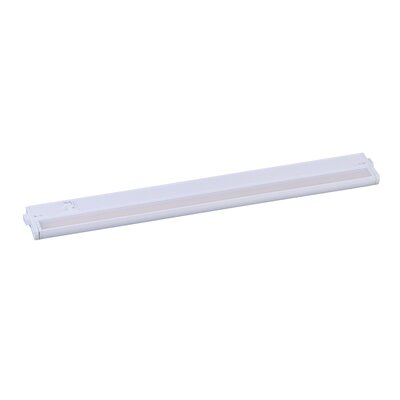 CounterMax LED 24 Under Cabinet Bar Light Finish: White