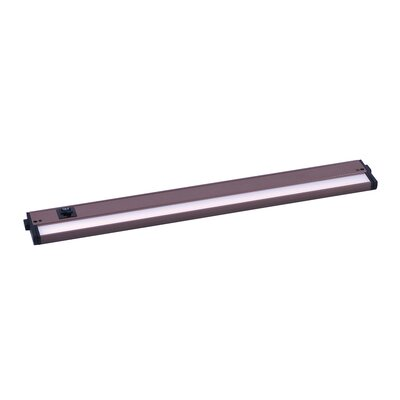 CounterMax LED 24 Under Cabinet Bar Light Finish: Bronze