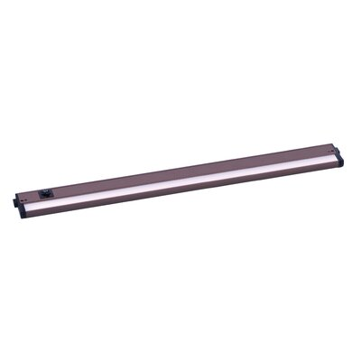 CounterMax LED 30 Under Cabinet Bar Light Finish: Bronze
