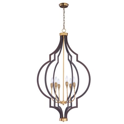 Astin 6-Light Foyer/Lantern Pendant