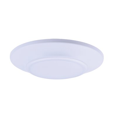 Adelinna 1-Light LED Flush Mount Size: 1 H x 7.5 W x 7.5 D