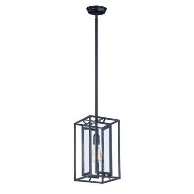 Cosette 1-Light Foyer/Lantern Pendant Bulb Type: MB