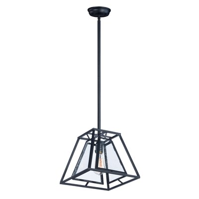 Cosette 1-Light Foyer/Lantern Pendant Bulb Type: MB