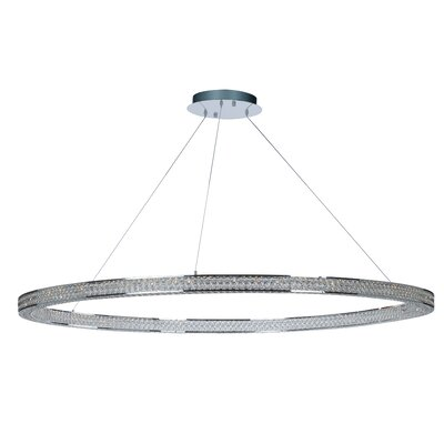 Ambrose 4-Light LED Crystal Pendant Size: 2.75 H x 60 W x 60 D