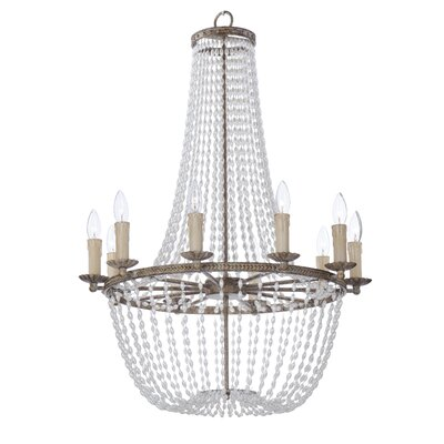 Georgiana 10-Light Candle-Style Chandelier
