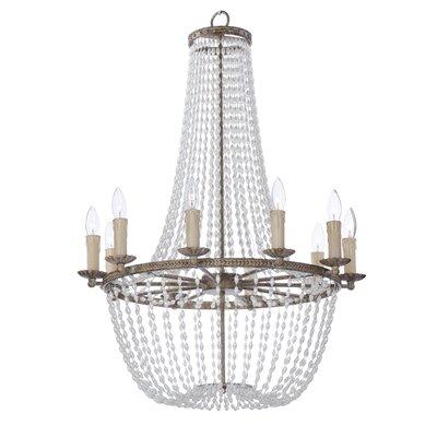 Georgiana 10-Light Candle-Style Chandelier