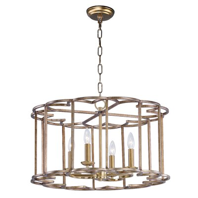 Delana 4-Light Candle-Style Chandelier