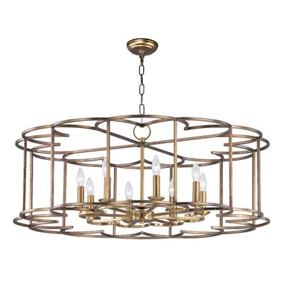 Delana 8-Light Candle-Style Chandelier