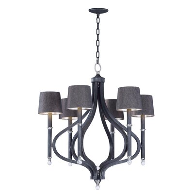 Doiron 6-Light Candle-Style Chandelier