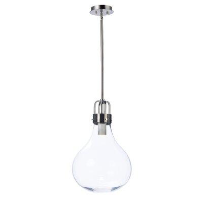 Durst 1-Light LED Globe Pendant Size: 21.5 H x 13.75 W x 13.75 D