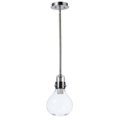 Durst 1-Light LED Globe Pendant Size: 9.5 H x 6 W x 6 D