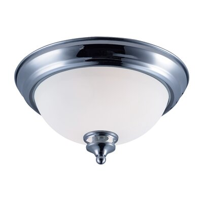 Smyrna 1-Light Flush Mount Finish: Polished Chrome