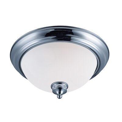 Smyrna 2-Light Flush Mount Finish: Polished Chrome