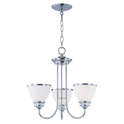 Smyrna 3-Light Mini Chandelier Finish: Polished Chrome
