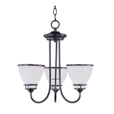 Smyrna 3-Light Mini Chandelier Finish: Oil Rubbed Bronze