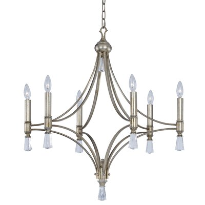 Beauvallon 6-Light Candle-Style Chandelier
