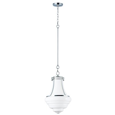 Caulkins 4-Light Schoolhouse Pendant