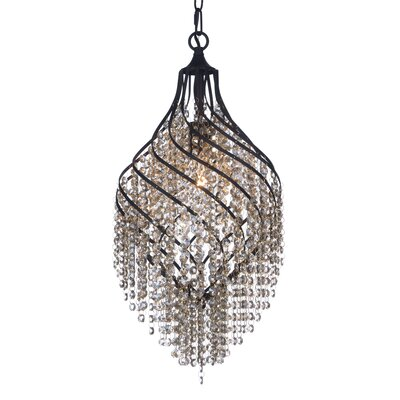 Dede 1-Light Crystal Pendant