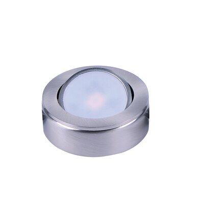 CounterMax LED Under Cabinet Puck Light Finish: Satin Nickel