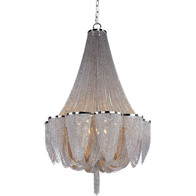 Samia 14-Light Empire Chandelier Size: 62 H x 42 W x 42 D