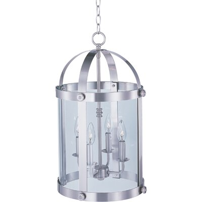 Mosqueda 4-Light Pendant Finish: Satin Nickel