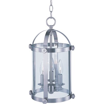 Mosqueda 3-Light Pendant Finish: Satin Nickel