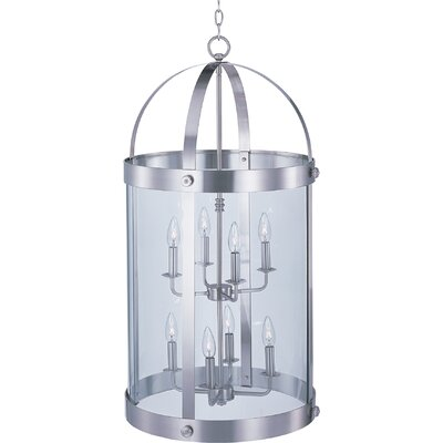 Mosqueda 8-Light Foyer Pendant Finish: Satin Nickel