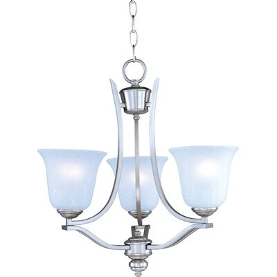 Madera 3-Light Shaded Chandelier Finish: Sand Stone